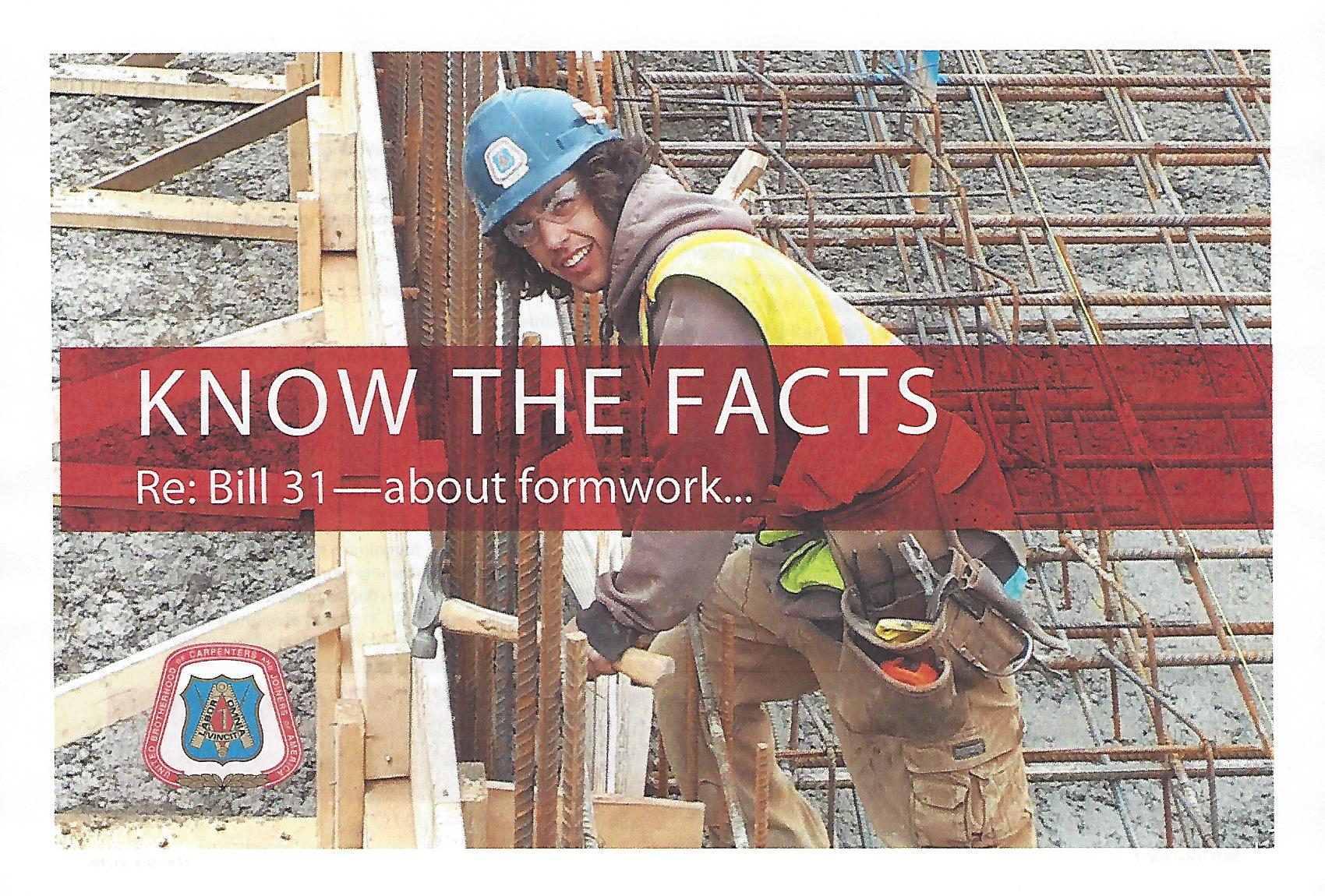 Bill 31 will Increase Fairness for Unionized Skilled Workers in Ontario